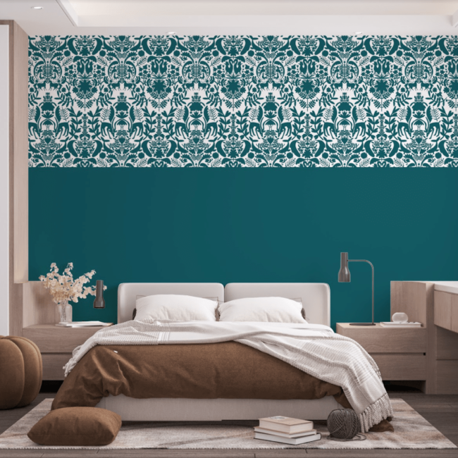 papier-peint-aarhome-sur-mesure-cerf-vert