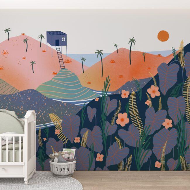 aarhome-sur-mesure-enfant-papier-peint-voyage